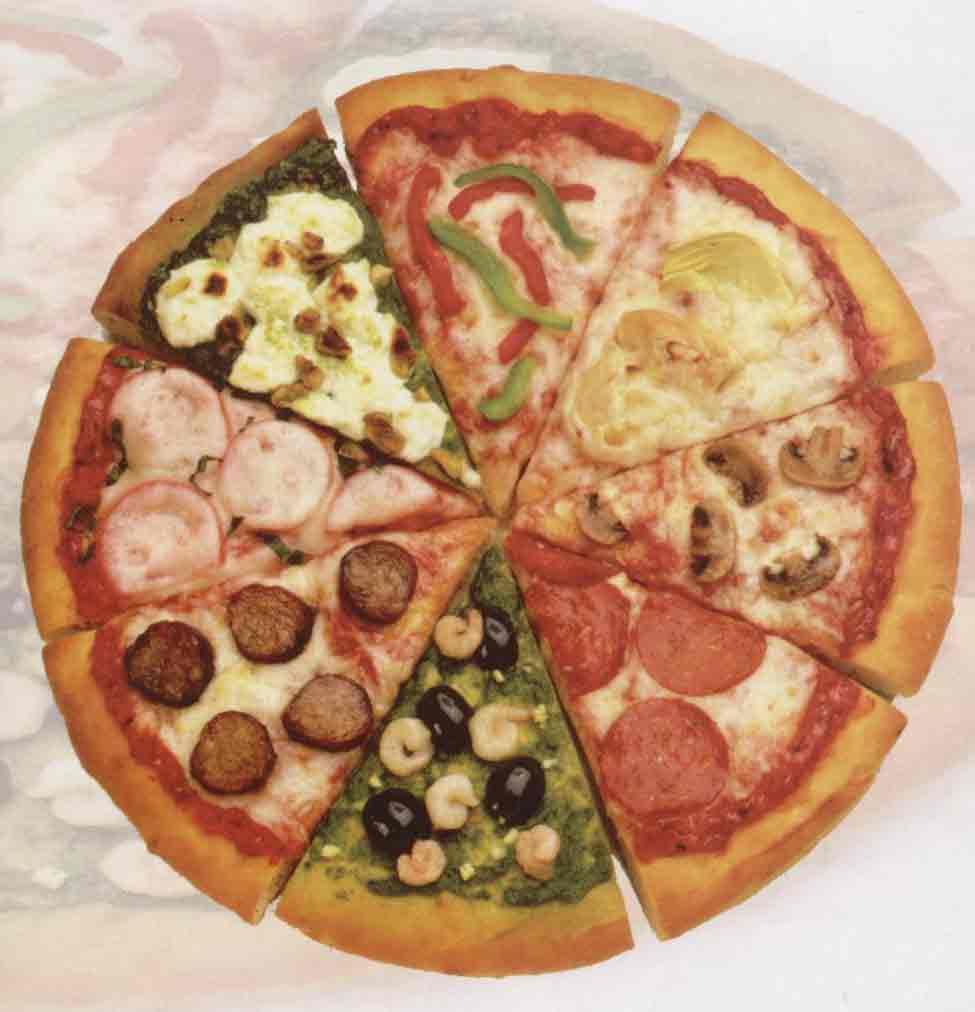 Пицца рецепт начинки